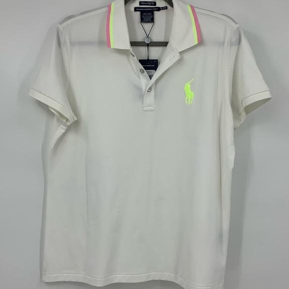 22b4a9f3 Ralph Lauren Golf Women's shirt polo white XL NWT